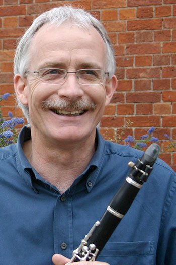 Image of Cliff Wybrow - clarinet